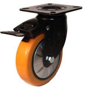 چرخ ترمزدار نارنجی