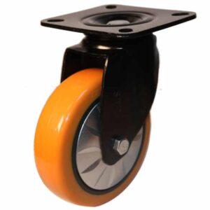چرخ نارنجی قابدار گردان کفی 150